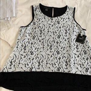 Alfani tank blouse